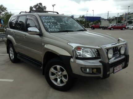 2003 Toyota Landcruiser Prado GRJ120R GXL (4x4) Gold 4 Speed Automatic Wagon Morayfield Caboolture Area Preview