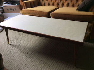 Solid Wood Retro Funky 4 ft.L Coffee Table, AVAILABLE