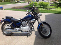Yamaha V-Star 250. Clean/Excellent condition. Never dropped.