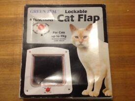 New 4 Way lockable Cat Flap
