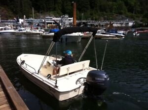 SCOUT 145 Sportfish and Trailer