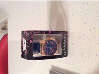 Brand Golddigger Blue Watch