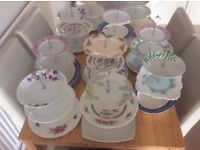 3 Tier Cake Stands Selling single or multiples