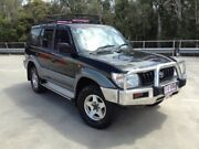 1997 Toyota Landcruiser Prado VZJ95R GXL (4x4) Black 4 Speed Automatic 4x4 Wagon Morayfield Caboolture Area Preview