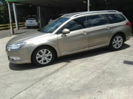 2010 Citroen C5 X7 MY10 Comfort Tourer HDi Beige 6 Speed Sports Automatic Wagon Nambour Maroochydore Area Preview