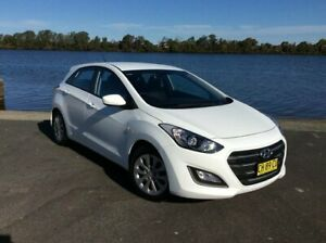 2016 Hyundai i30 GD4 Series 2 Active White 6 Speed Automatic Hatchback Taree Greater Taree Area Preview