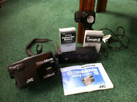 JVC movie camera