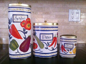 Pasto storage set by The Tin Box Company West Island Greater Montréal image 1