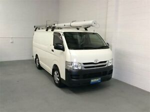2010 Toyota HiAce KDH201R MY10 LWB White 4 Speed Automatic Van Burleigh Heads Gold Coast South Preview
