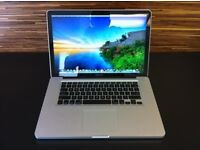 (MASSIVE SPEC MACBOOK PRO 15) 2.6GHZ, 4GB RAM,500gb HD, PREMIUM SOFTWARE