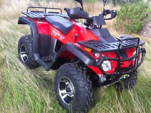 Krusher 300cc 4X4 ATV farm quad Motorbike City open 7 days
