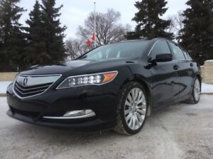 2014 Acura RLX, ELITE-PKG, LEATHER, NAVI, 66K, FULL WARRANTY!
