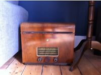 Vintage 1950's Ekco TRG 229 Radiogram - Radio & Record Player