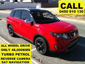 2017 Suzuki Vitara LY S Turbo (4WD) Bright Red & Black Roof 6 Speed Automatic Wagon Ellenbrook Swan Area Preview