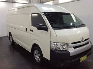 2014 Toyota HiAce KDH221R MY14 Super LWB White 4 Speed Automatic Van Cardiff Lake Macquarie Area Preview