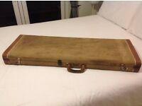 Genuine Vintage Fender Tweed Case for Stratocaster or Telecaster