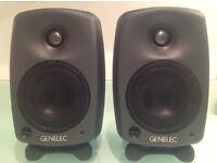 Genelec 8020B Studio monitors