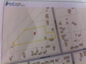 Building Lot for sale in the quiet town of Springford