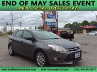 2012 Ford Focus! Great Deal! WE FINANCE EVERYONE!