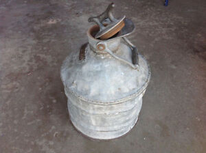 Antique Gasoline Fuel 5 Gallon Can 1930's Edmonton Edmonton Area image 3