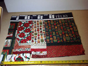 Telio fabric samples for crafts - 20 sampler of mostly Christmas Cambridge Kitchener Area image 3