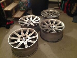 """19"""" open bmw wheels staggered"""
