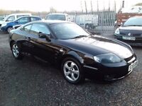 Hyundai Coupe 1.6 S, Low Miles, New 12 Months MOT, Fabulous Value Sporty Coupe