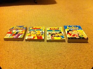 THREE DOUBLE DOUBLE Archie Comics + A BEST of Archie