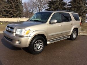 2005 Toyota Sequoia, Limited-Pkg, 4x4, LEATHER, ROOF, $8,500