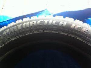 Good quality/price- Zeta Antartica Ice MS tires, almost new !!