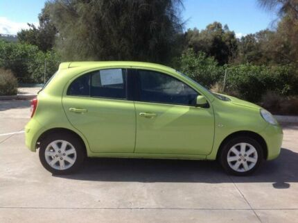 2011 Nissan Micra K13 TI Lime 4 Speed Automatic Hatchback Laverton Wyndham Area Preview