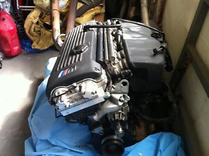 2004 BMW E46 M3 Engines S54 low km COMPLETE   came off 2004 M3