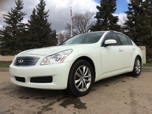 2007 Infiniti G35x, AUTO, AWD, FULLY LOADED, LEATHER, $7,800