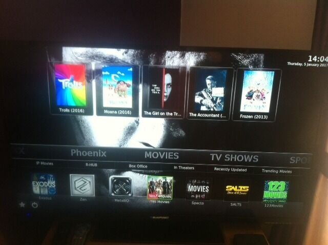 how to watch movies in theaters on android box