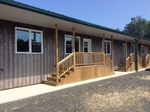 Cottage style two bedroom suite on working organic farm.