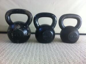 Kettlebells To Trade For Olympic Barbell & Weights
