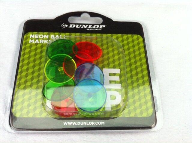 Dunlop Golf Ballmarker Neon Golfballmarkierer 12 Stk. NEU
