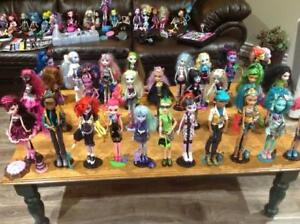 Monster High dolls and accessories and everything in between.