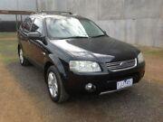 2005 Ford Territory SX Ghia (RWD) Black 4 Speed Auto Seq Sportshift Wagon Point Cook Wyndham Area Preview