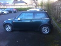 Mini One 1.6 2003, very reliable, my new job with a new car forces sale
