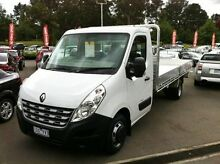 2015 Renault Master X62 LWB AMT RWD White 6 Speed Sports Automatic Single Clutch Cab Chassis Berwick Casey Area Preview