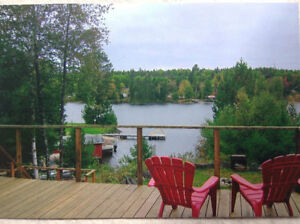 Cottage rental on  Lake Kipawa (ALMOST FISHING TIME)