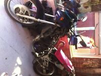 kle 500 91 spares or repair ...Golden bits