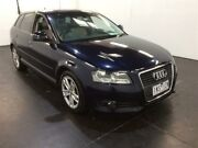 2008 Audi A3 8P Sportback 1.8 TFSI Ambition Blue 6 Speed Direct Shift Hatchback Cardiff Lake Macquarie Area Preview