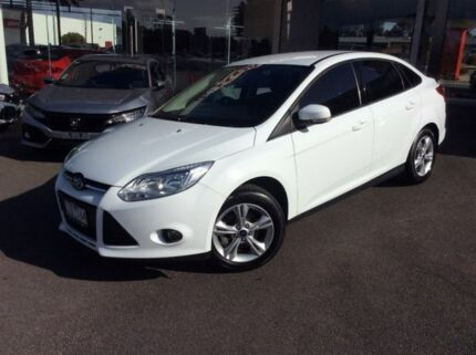 2012 Ford Focus White Sports Automatic Dual Clutch Sedan Traralgon Latrobe Valley Preview