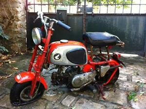 AAA WANTED old  honda  50 cc     minibike z50 cz100 mini trail