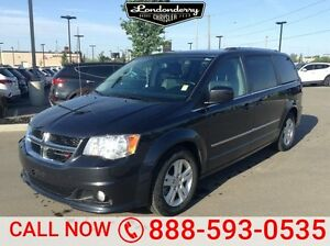 2014 Dodge Grand Caravan CREWPLUS STOW&GO Rear DVD,  Leather,  H