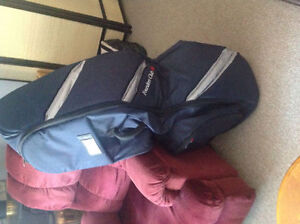 Travel Golf Bag Founders Club for golf clubs golf shoes on plane