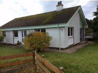 Three bedroom bungalow with garage,good condition