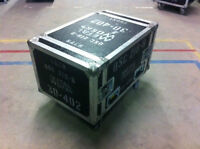 Rack Style Case with Wheels 9U - 30 - 402